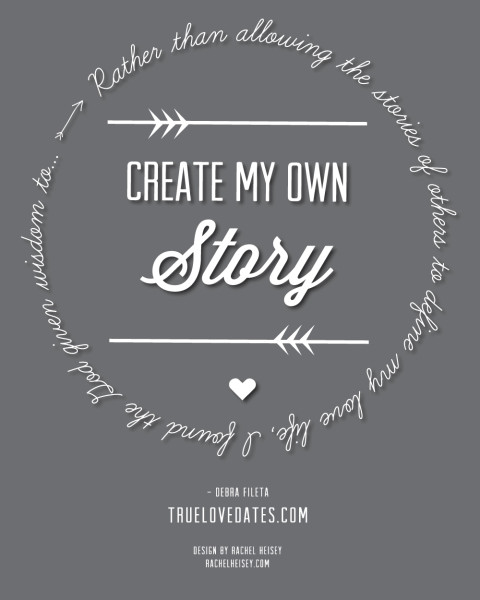 Create Your Own Story Artwork True Love Dates