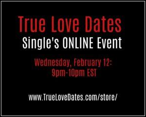 Singles Online Event Valentines